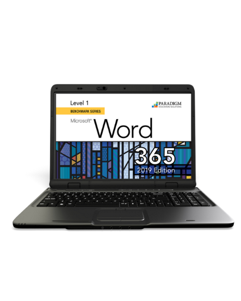 Cirrus for Benchmark Series - Microsoft Word 365 - 2019 Edition - Level 1