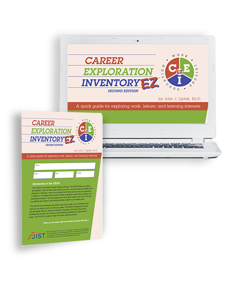 Career Exploration Inventory EZ: A Quick Guide to Exploring Work, Leisure, and Learning Interests