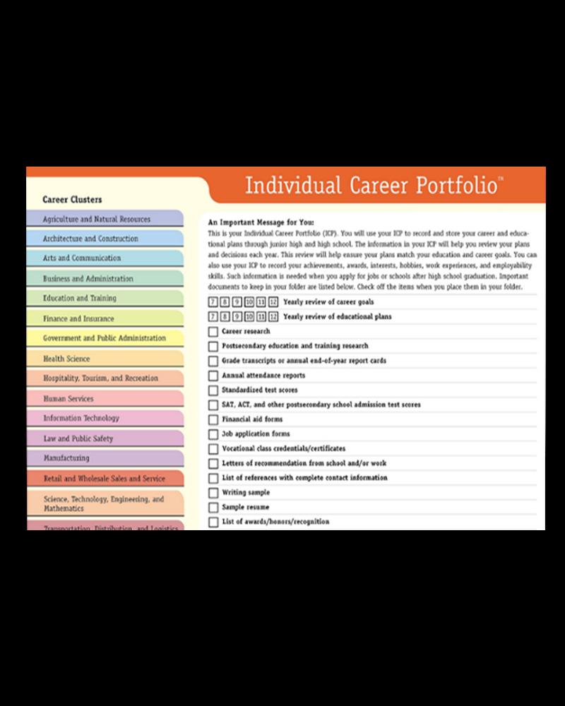 Individual Career Portfolio