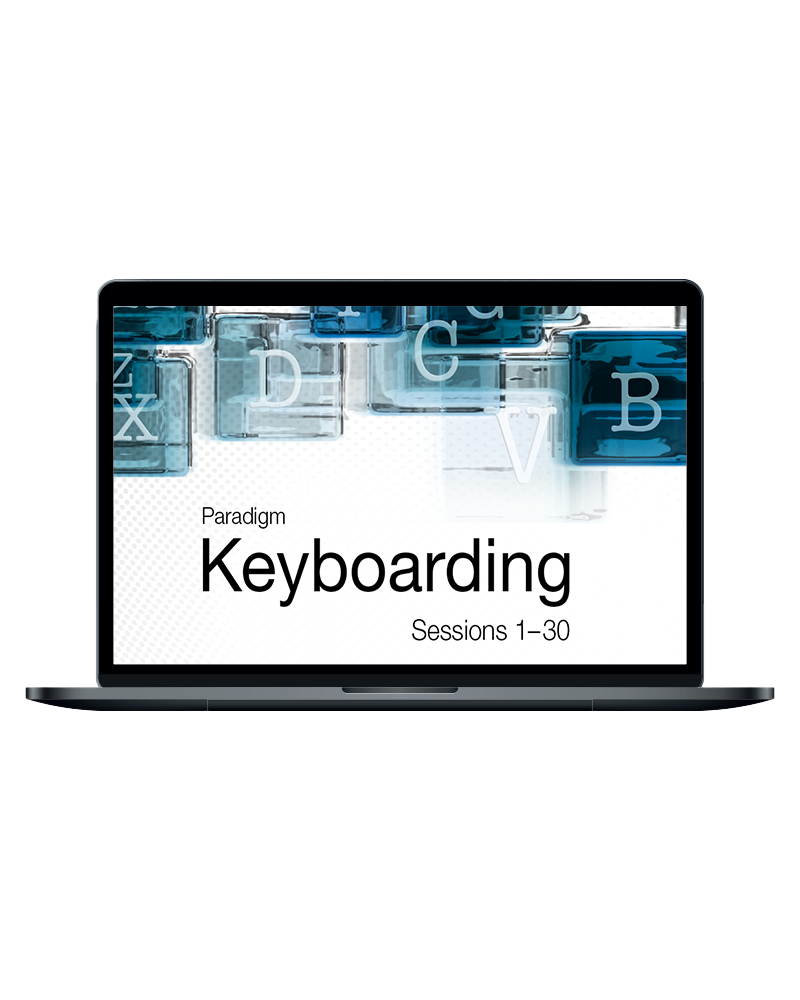 Keyboarding, Sessions 1-30 and Online Lab 2019
