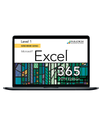 Cirrus for Benchmark Series: Microsoft Excel 365/2019 Level 1